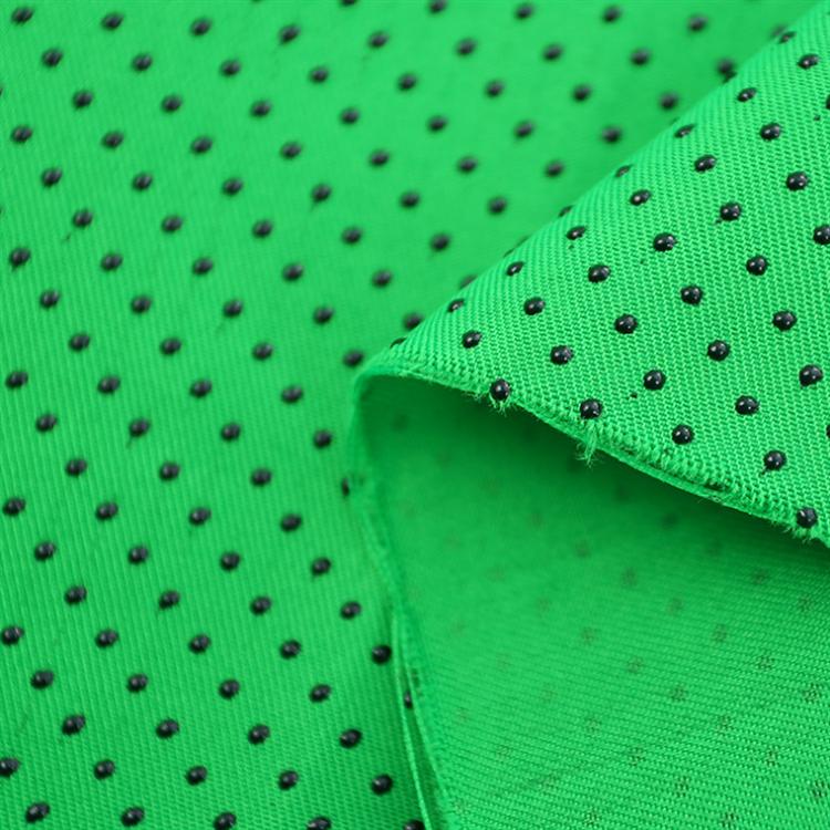 Anti Slip Dots Fabric Non Slip Silicone Dots Fabric
