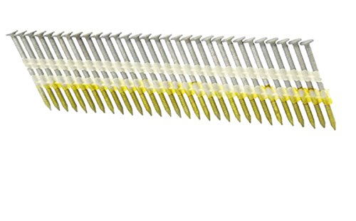"3-1//2/"" x .131 RING 316 STAINLESS STRIP NAILS 21 DEGREE 250ct MiniPak"