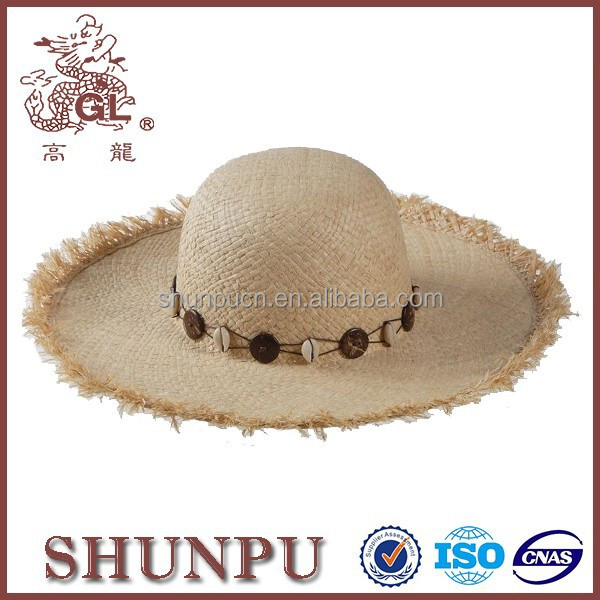 womens summer fashion straw hat cheap mexican straw hat wholesaler