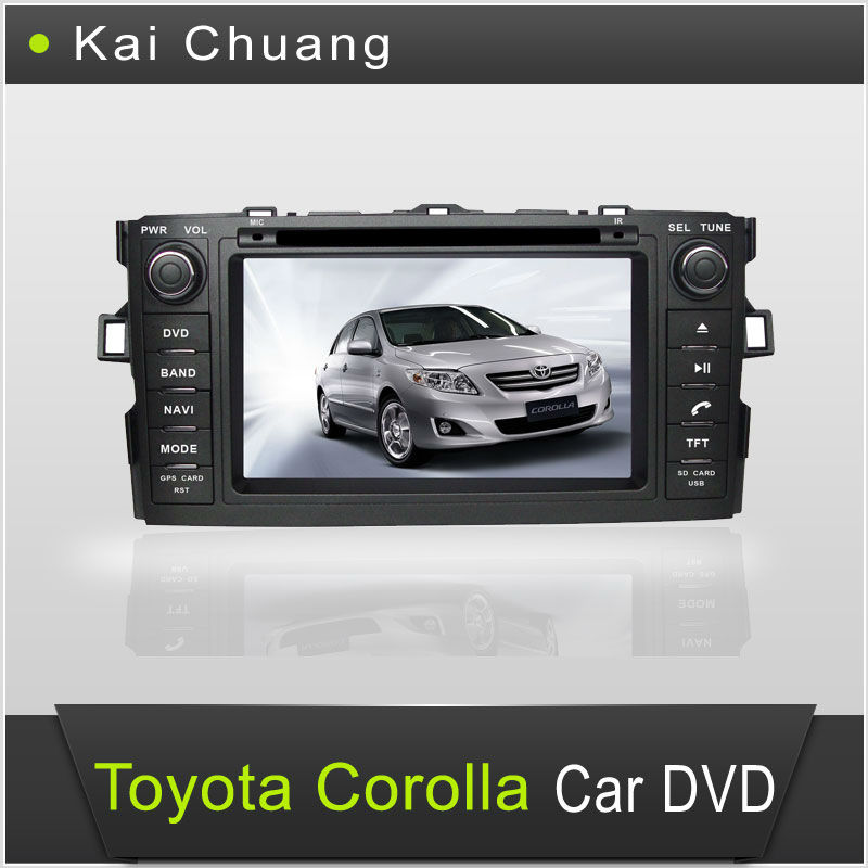 7 inch in Dash Car DVD Playe Toyota Corolla 2012 GPS
