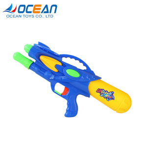 Blue red high capacity hand pump action water gun malaysia