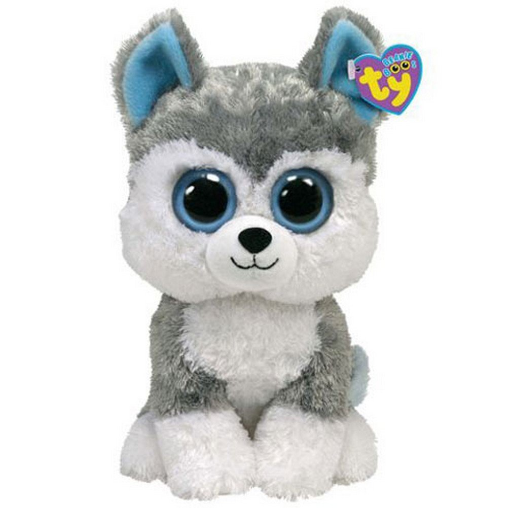 Get Quotations · TY Beanie Boos Slush the Husky - Medium 552e431f19a3