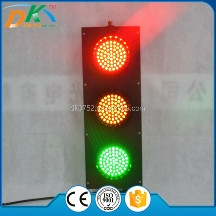 125mm traffic LED red yellow green flashing light/LED traffic signal