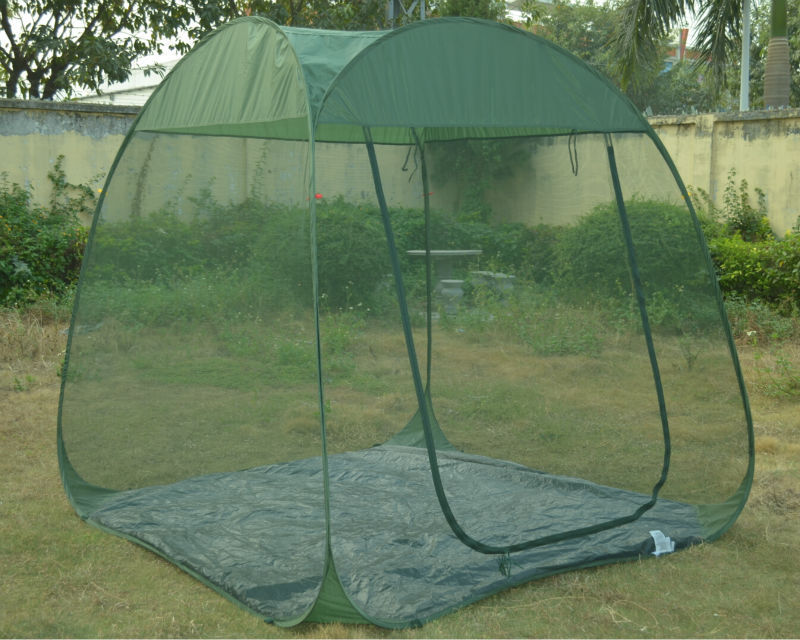 green color pop up screen room large mosquito net tent with floor & Green Color Pop Up Screen Room Large Mosquito Net Tent With Floor ...