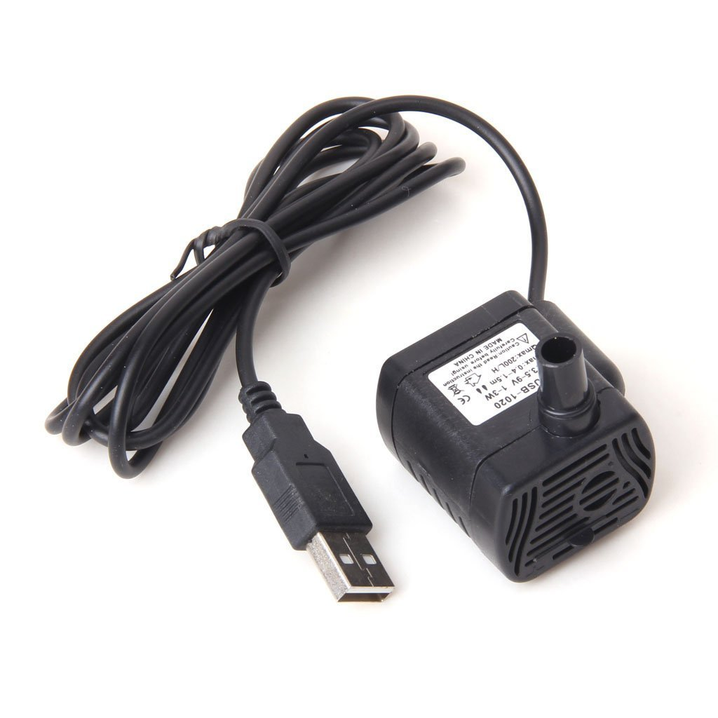 DC 3.5V -9V 3W USB Submersible Water Pump Aquarium Fountain Pond Pump-simulate Natural Ocean / River Environment