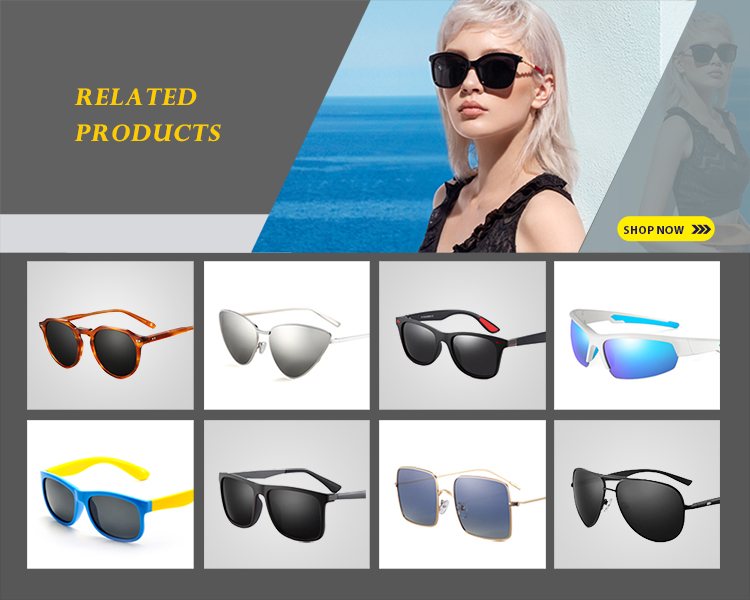 Custom Logo Fashion Unisex UV400 Polarized Lens Metal Stainless Steel Sunglasses