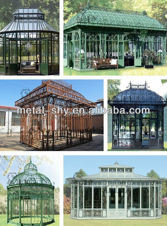 outdoor ornamental wrought iron gazebos for sale buy ornamental gazebos wrought iron gazebos. Black Bedroom Furniture Sets. Home Design Ideas