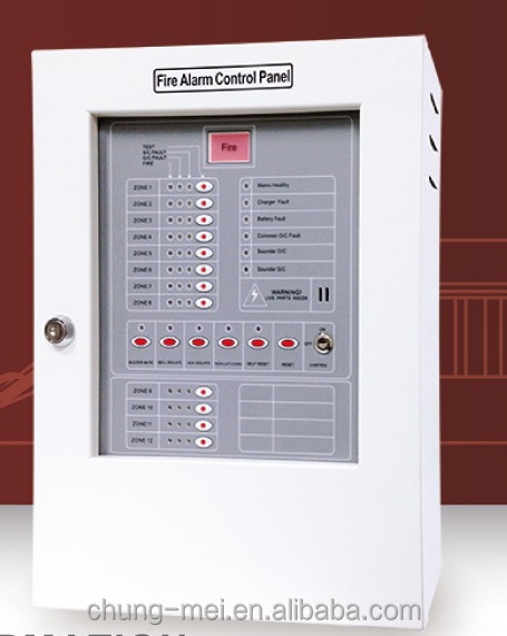 Cm-p3 Fire Alarm Control Panel Made In Tawian Ce Approved ...