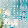 Top Sell 7*18*18MM Acrylic Ring Beading Curtain Garland Supplies