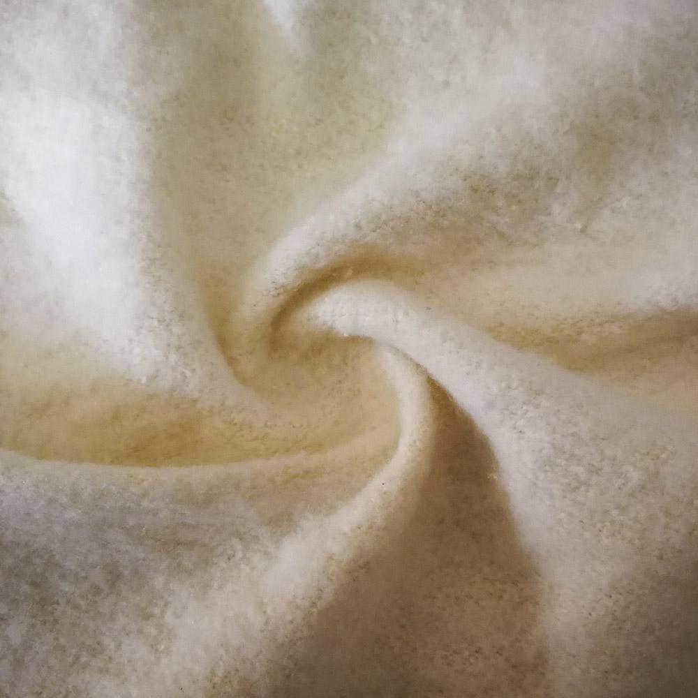 THX Natural fiber fabric hemp organic cotton Fleece fabric