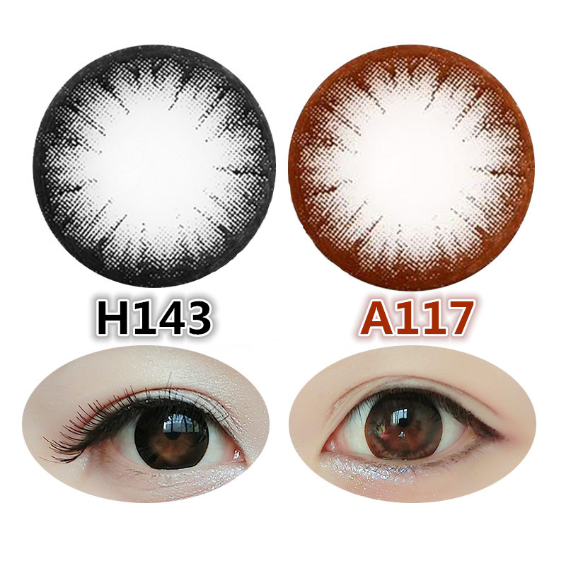 Color Contact Lens,Korea Color Contact Lens,Tri Color Contact Lens ...