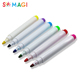 High quality 4 mm bullet tip white permanent fabric marker pen
