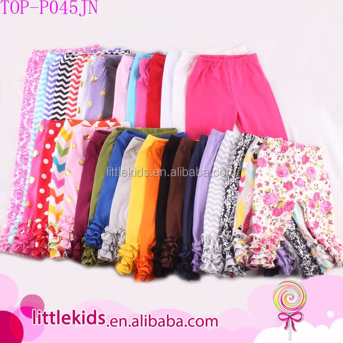 96a5a12595a42 Sew sassy ruffle capris wholesale icing leggings baby girl icing ruffle  pants, View icing pants, LITTLEKIDS Product Details from Yiwu  Lollipop-Professional ...