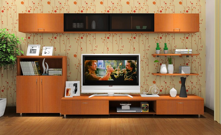 Living Room Furniture Wall TV Cabinet