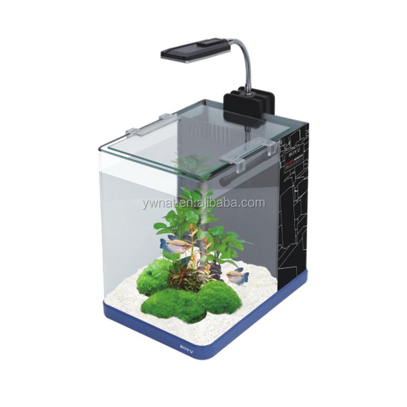 2015 Factional Design Joyful Home Led Desktop Aquarium Office Table ...