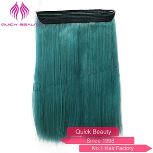 Thick Bottom 120g Remy Double Drawn wavy halo hair