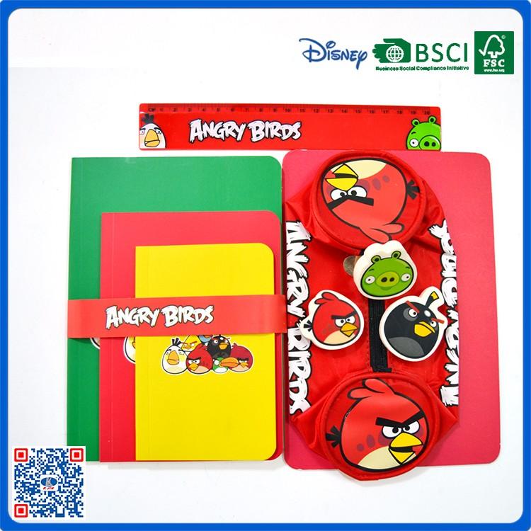 Custom Bulk 6pcs Big School Stationary Set For Kids From China ...