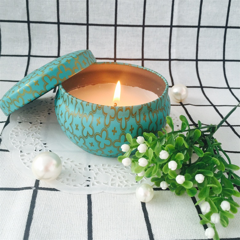 Traveling Portable High Quality Soy/Paraffin Wax Tin Candles