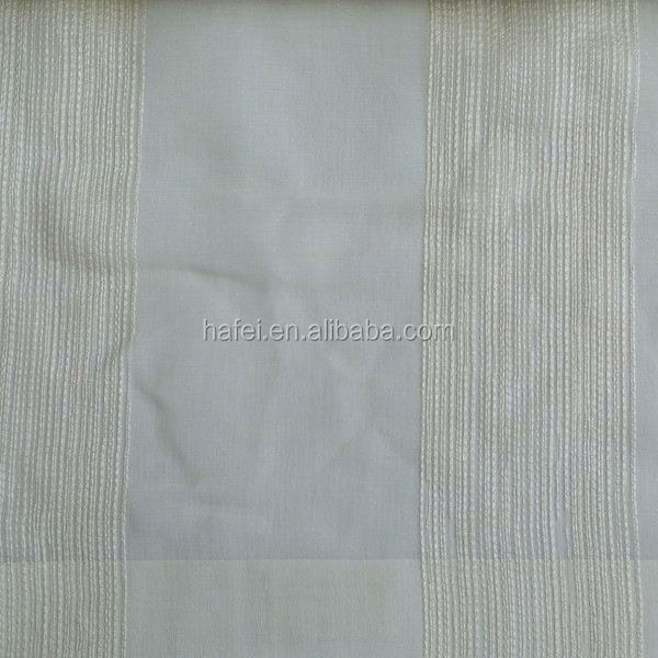 Hotel project sheer fabric 100 polyester wool peach fabric