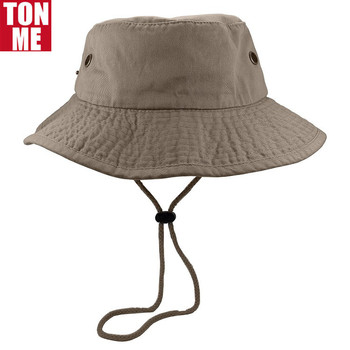 New 2018 Mens 100% Cotton Twill Stone Washed Safari Sun Hats ... 3b120063146