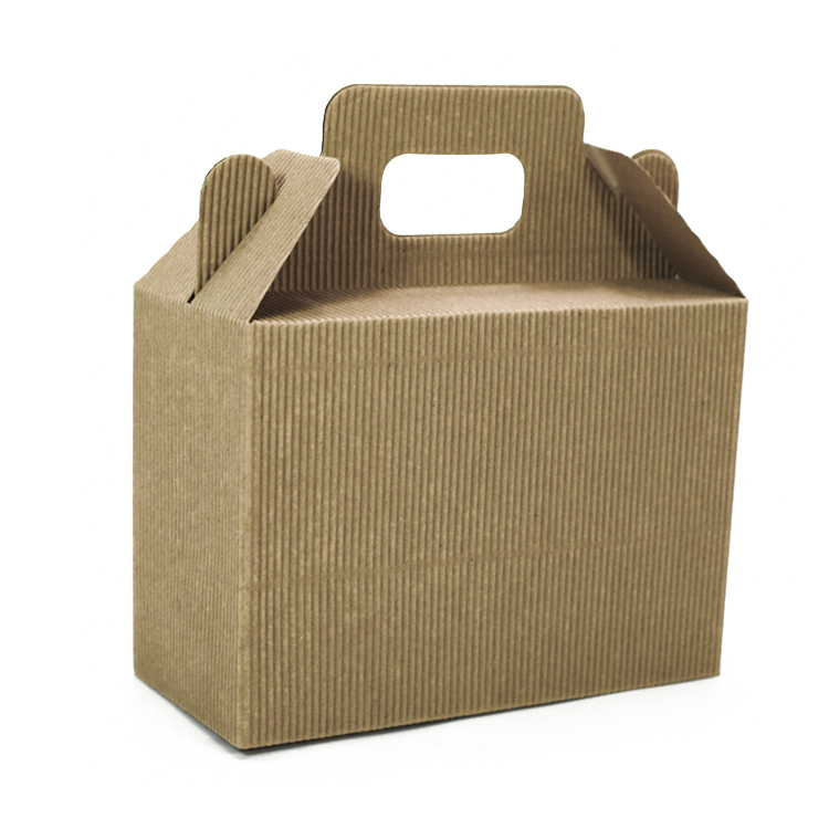 CWBSL901 recycled brown corrugated kraft   packaging  paper gift  Box China factory
