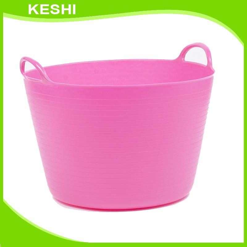 Pink Plastic Laundry Basket Classy Large Size Custom Plastic Pe Laundry Basket With Handle Buy