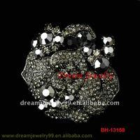 brooch for wedding invitations indian jewelry crystal flower brooch