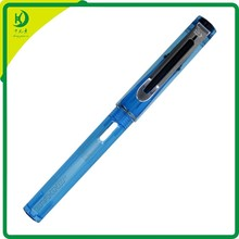 SL-X984 Wholesale JinHao Translucent Black Demonstrator Plastic Fountain Pen