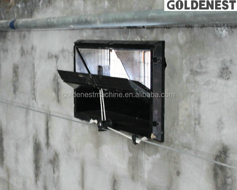 Goldenest air inlet window ventilation inlet for chicken house poultry farm equipment JCZY12-W01