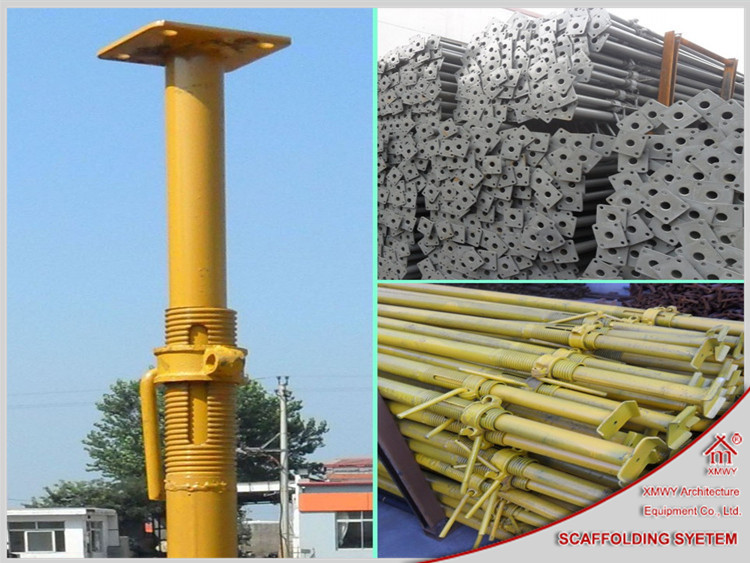 Difference Shoring Props : Adjustable steel push pull props trench struts tubular