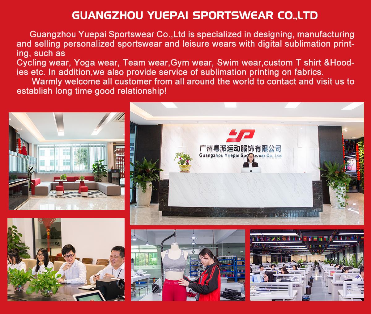 Guangzhou Yuepai Sportswear Co., Ltd. Yoga Wear, Cycling Wear