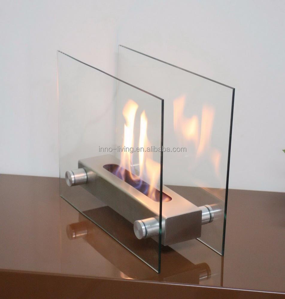 On Sale Bio Kamin With Table Glass Modern Design Fireplace Buy