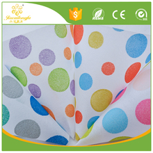 Disposable flower pattern pla spunbond nonwoven fabric supplier/PET non woven cloth pictures printing non woven shopping bags
