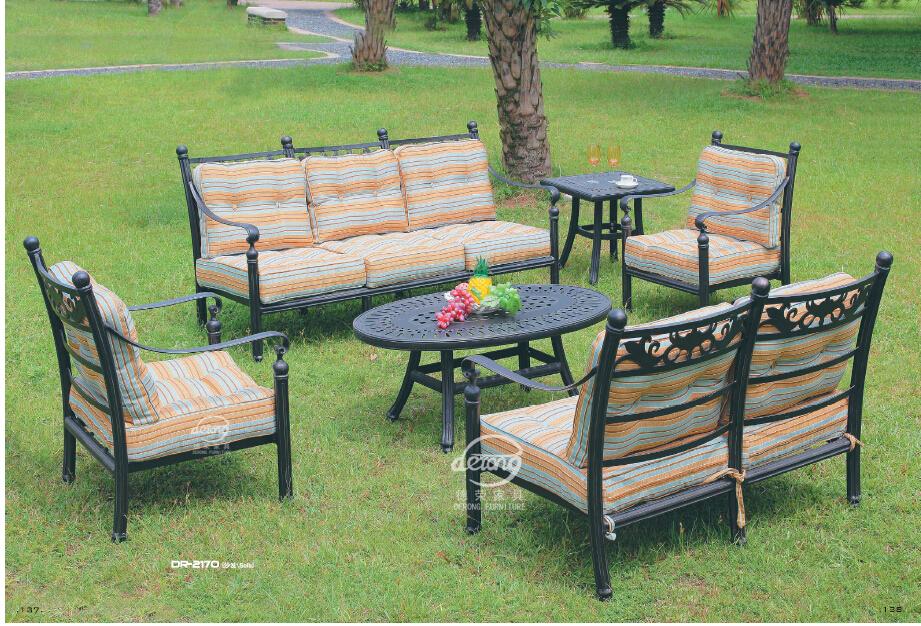 Garden Furniture Outdoor Furniture Set Metal Set Cast Aluminum Patio Furnitur