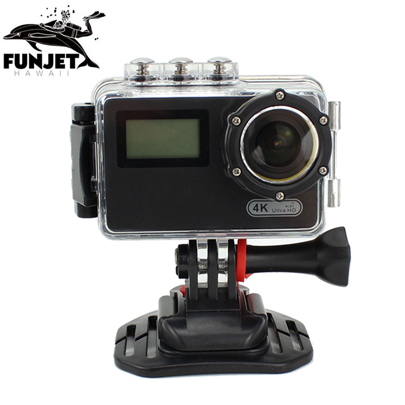 Dual Screen 4k Ultra HD Wifi Action Camera For Sporting, Swimming Pool Underwater Video Action Sport Camera
