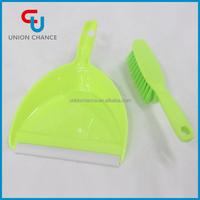 Mini Plastic Dustpan and Brush Set for Table