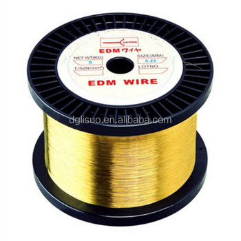 Wire Cut EDM Brass Wire Electrode EDM Wire 0.25mm