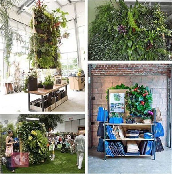Large 9 Pocket Hanging Vertical Garden Planter Indoor Outdoor