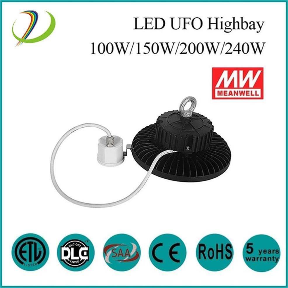AC100V-480V Led High Bay Light UFO 140LM/W Ufo Induction High Bay100W-500W  UFO high bay hid LED lighting fixtures