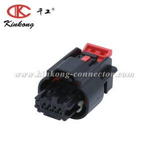 Molex Mini50 Sealed Series, 34967-4001 Series Number, 1 Row 4 Way Cable Mount Socket Crimp Housing