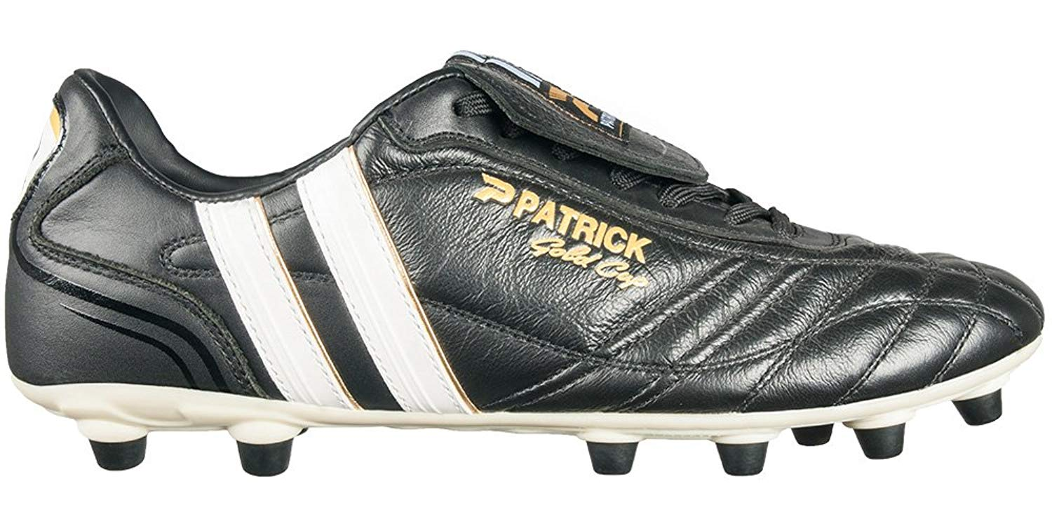 best service 958b0 56d37 Get Quotations · Patrick Gold Cup-15 Soccer Shoe   Soccer Cleat with  Genuine Full Grain Leather