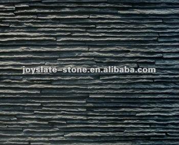 Aussen Schwarz Wasserfall Wand Schiefer Fliesen Buy Wand Schiefer Aussenwand Schieferfliese Schwarzem Schiefer Wandpaneel Product On Alibaba Com