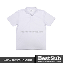 Polyester and Cotton Promotional Polo Sublimation Shirt (JA403W)