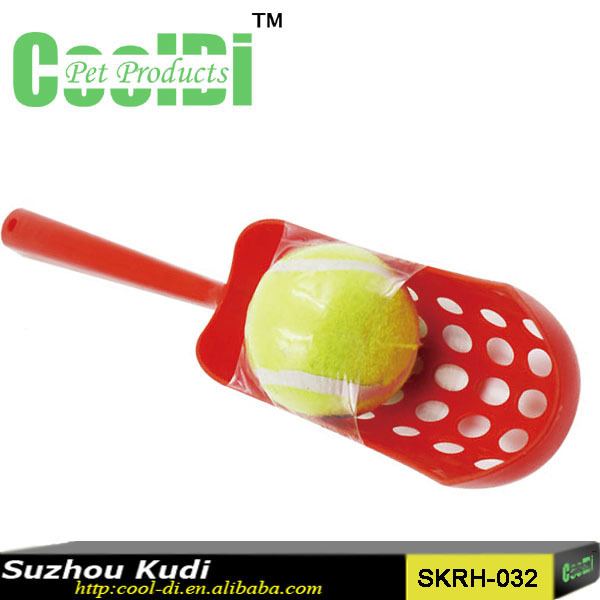 Dog training tennis ball plastic thrower