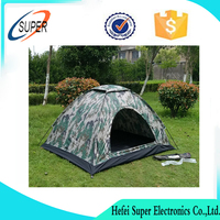 2 Person Pop Up Camping Tent Double Layer Outdoor Waterproof Hiking Backpack