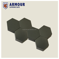Hexagon silicon carbide ceramic plate