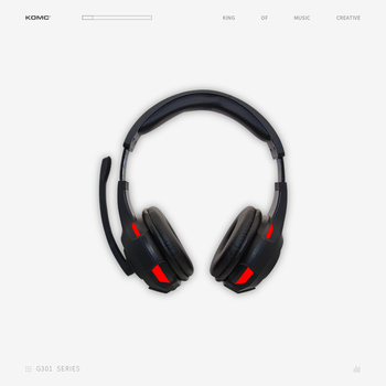 gaming Headset with perfect sound and mic RGB LED light