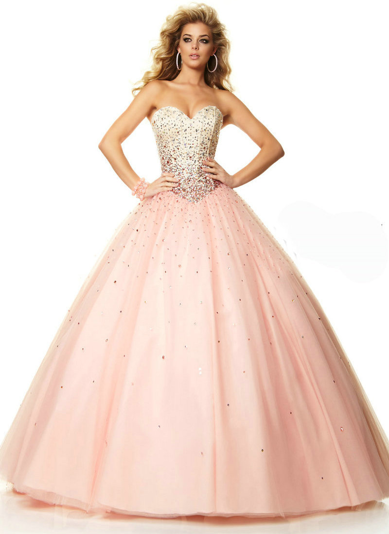68aad6d9c5b66 Get Quotations · Dress Style 97051 Freeze Blush Tulle Sweetheart Prom Dress  Ball Gown Party Dress Evening Long vestido