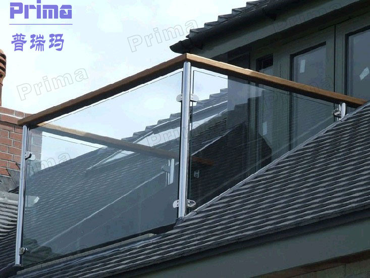 Top Installed Aluminum Posts With Tempered Glass Sheet For ...