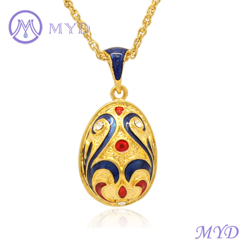 Easter day jewelry women gifts color enameled russian faberge egg easter day jewelry women gifts color enameled russian faberge egg necklace pendant buy faberge egg necklaceeaster egg pendantfaberge egg pendant product mozeypictures Gallery